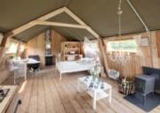 Voorbeeld afbeelding van Bungalow, vakantiehuis Luxe Safari Lodges Guesthouse De Heide in Oeffelt
