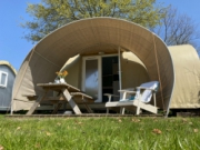 Voorbeeld afbeelding van Trekkershut Vakantiepark Delftse Hout in Delft