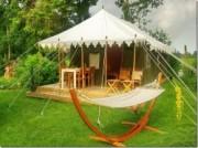 Voorbeeld afbeelding van Bijzonder overnachten Kamperen in een Indiase Tent in Witteveen