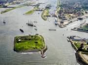 Voorbeeld afbeelding van Bezienswaardigheid Forteiland IJmuiden in IJmuiden